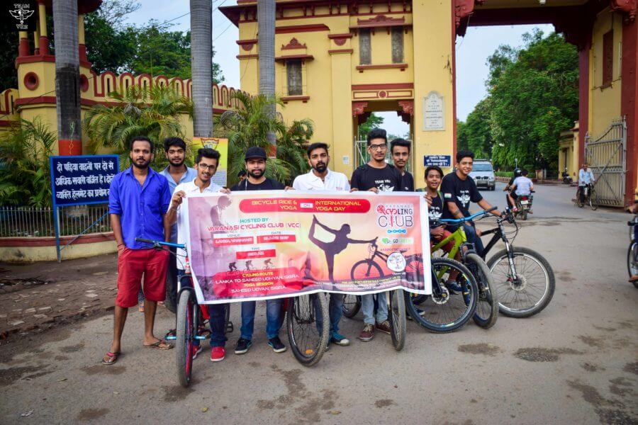 INTERNATIONAL YOGA DAY (BICYCLE RIDE + YOGA SESSION)